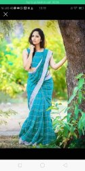 Cotton Checks Sarees