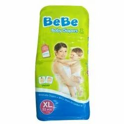 Disposable Bebe Extra Large Baby Diaper, Age Group: 3-12 Months
