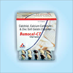 Calcium Carbonate Calcitriol Soft Gelatins