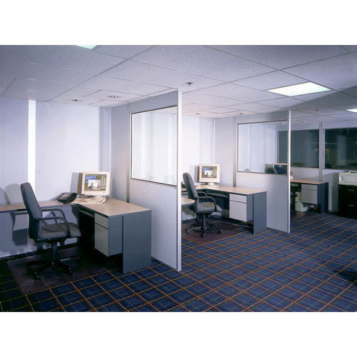 Glass And Aluminium Office Partition