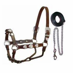 Black, Brown Horse Tack