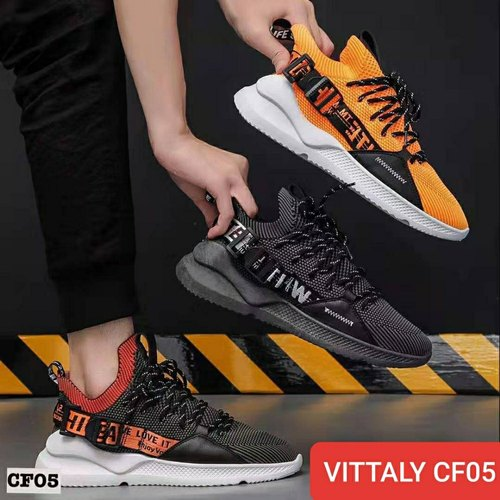 Vittaly Multi Gents Lace Up Sport Shoes, For Daily Wear, Model Name/Number: CF-05