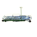 Aluminum Collapsible Stretcher, Size: 214 X 55 X 12 Cm