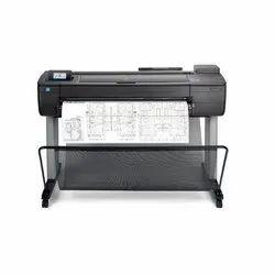 Black HP Designjet T730 Printer