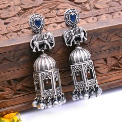 Brass Party Wear Fashion Jewelry Earrings