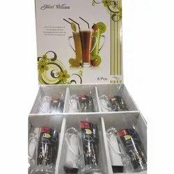 6 Piece Drinking Glasses, Capacity: 300 Ml