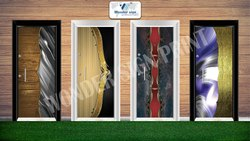 Wonder Sign UV Membrane Door Print