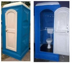Portable Western Commode Toilet Cabin