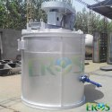 Used Lead Acid Battery Recycling Plant Refining Pot