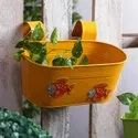 Oval Tub Colored Planter For Garden And Home Decor