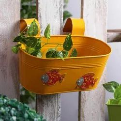 Oval Tub Colored Planter