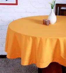 Plain Solid Color Tablecloth