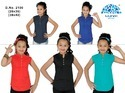 Sleeveless Lycra Girls Top Design, Size: 26-40