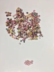 Multicolor Tourmaline Cabs Semi Precious Stone