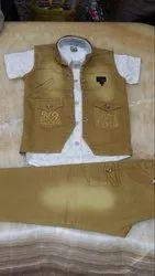 Denim Washing Full Pant Jacket Suits, Size: M