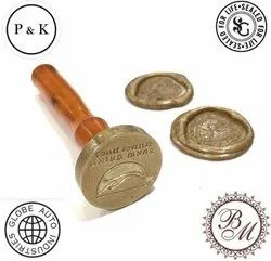 Brass Wax Seal Stamp