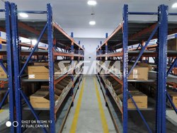 7-8 Feet MS Box Storage Racks
