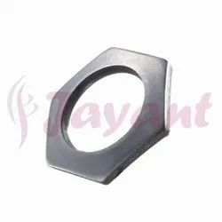 Hexagonal Washer - Round Center Hole, Chrome Plated, Zinc Plated, Nickel Plated Hex Washers