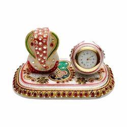 Marble Ganesh Set