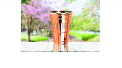 Copper Tapper Water Glasses