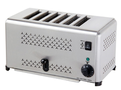 SS Pop Up Toaster, 2500 W