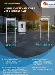 Human Body Temperature Measurement Gate