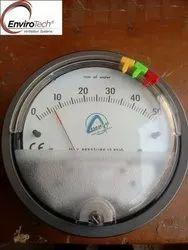 Aerosense Model ASG-500PA Differential Pressure Gauge Range 0-500 PA