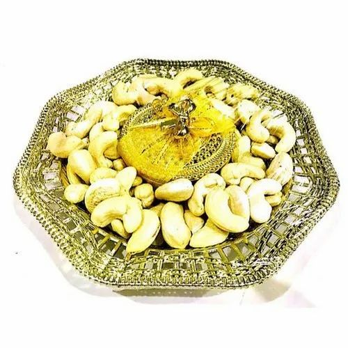 Metal Diwali Handcrafted Dry Fruit Tray, for Gifting Purpose