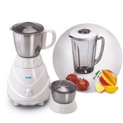 Opal White Glen 4022 750 Watt Mixer Grinder with Glass Jar, Model Name/Number: 4022 Glass