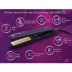 Philips Kera Shine BHS386 Hair Straightener
