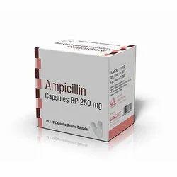 Ampicillin Capsules BP 250 mg