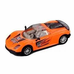 Orange Super Power Racing Toy Car for  playing