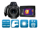 Testo 890 Kit - Thermal Imager (640 X 480 Pixels, Focus Manual/Auto, Laser, 3 Lenses Selectable)