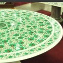 Marble Floral Design Table Tops