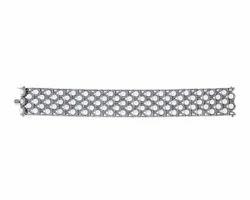 Diamond Pearl Gemstone Bracelet