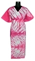 Tie Dye Printed Cotton Kaftan Dress