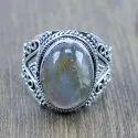 925 Sterling Silver Handmade Jewelry Malachite Gemstone Ring