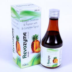 Fungal Diastase Papain B Complex Syrup With Monocarton