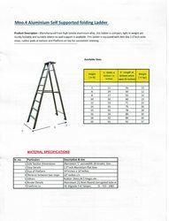 High Quality Aluminum Folding Ladder