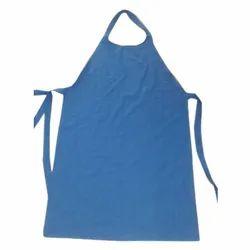 Blue Male Cotton Appron, Size: Medium