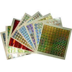 Hologram Stickers Sheet