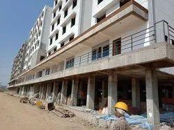 Black mild steel Balcony Grills, For Residential