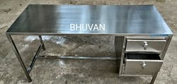 Stainless Steel Sliding Drawer Table