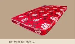 PU Foam Delight Deluxe Mattress Maroon