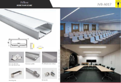 Led Aluminum Profile JVB017