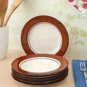 Ceramic Dinner Plate, Size: 10 Inch