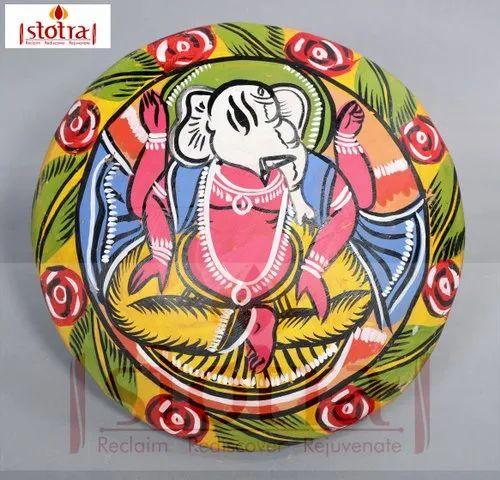 Decorative Earthen Plate