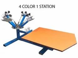 Screen Printing Machine And Printing Service