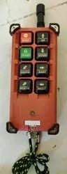 Crane Wireless Radio Remote Control 6 Button Single Speed