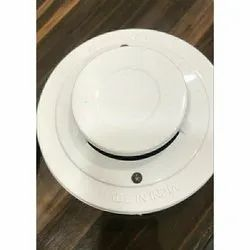 White Conventional Smoke Detector